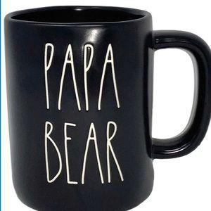 New Rae Dunn Papa Bear Mug